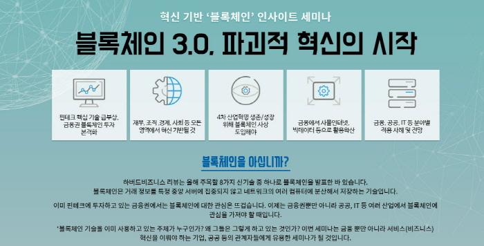 사물인터넷의 핵심기술 '블록체인'