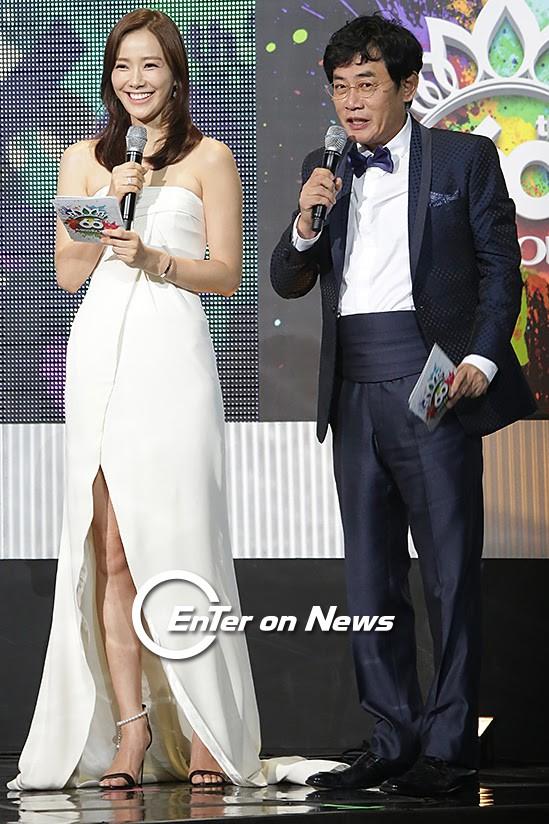 [ON포토] 손태영-이경규, '2016 미스코리아 어때요?' - 전자신문