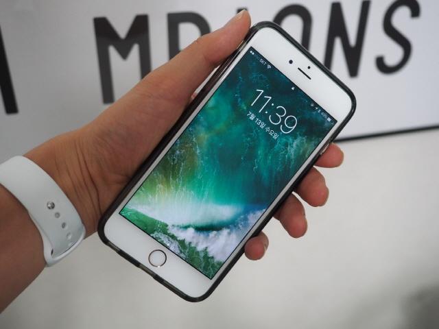아이폰6S플러스에 iOS10 공개 베타 버전을 올려봤다.