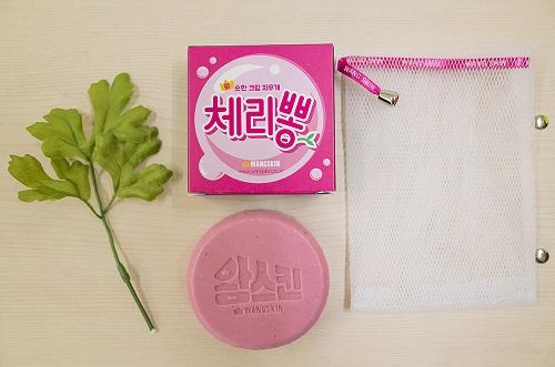 왕스킨, 보습력과 세정력 갖춘 순한 '체리뽕 비누' 출시