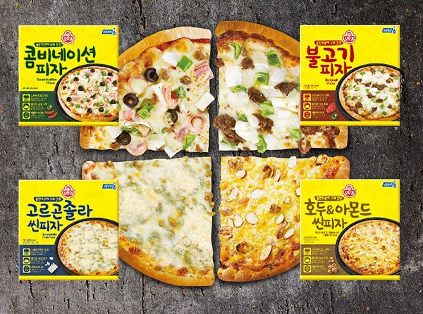 집에서도 간편하게…'오뚜기 피자' 관심 집중!!