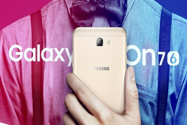 Galaxy On7 (2016) that is to be released by Samsung Electronics at the end of October in South Korean markets (Provided by Samsung Electronics)