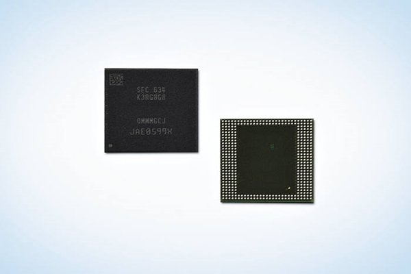 Samsung Electronics' 8GB LPDDR4 mobile D-RAM