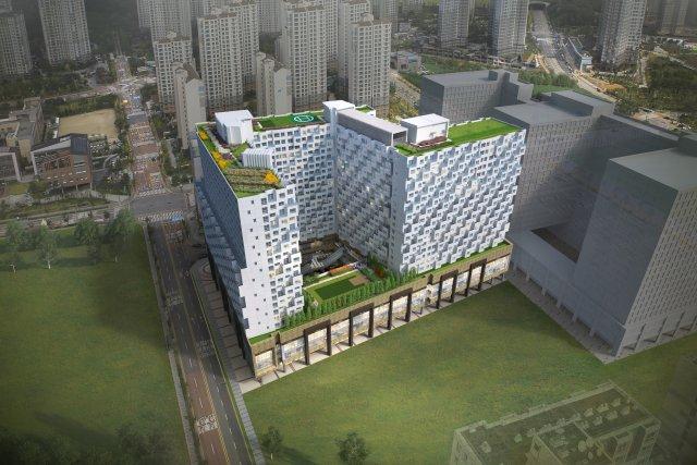 현대건설, '힐스테이트 광교중앙역' 11월 분양
