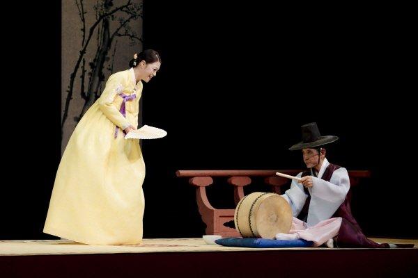 '김미나의 적벽가_박봉술제' 공연사진. 사진=국립극장 제공