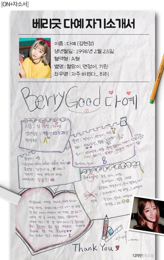 [ON+자소서] 6인조 재탄생 베리굿, 매력만점 소개서도 베리굿