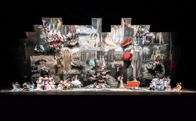 [ET-ENT 오페라] 신비한 거울 효과, 매력적인 이미지 '라 트라비아타'