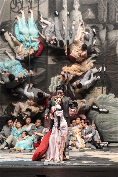 '라 트라비아타' 공연사진. 사진=세종문화회관 제공