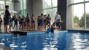 안면도 리솜리조트, 초등생 대상 구조수영 강습 진행