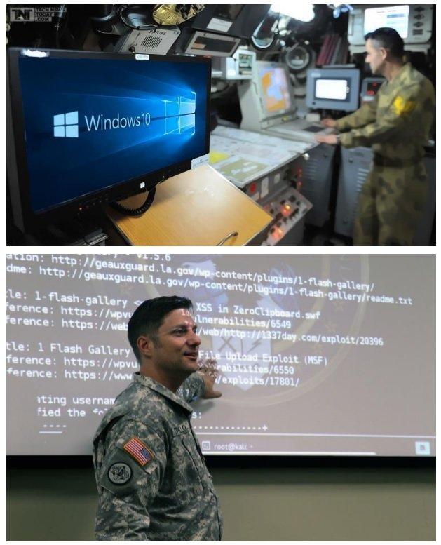 미 국방부에서 사용하고 있는 윈도우 10