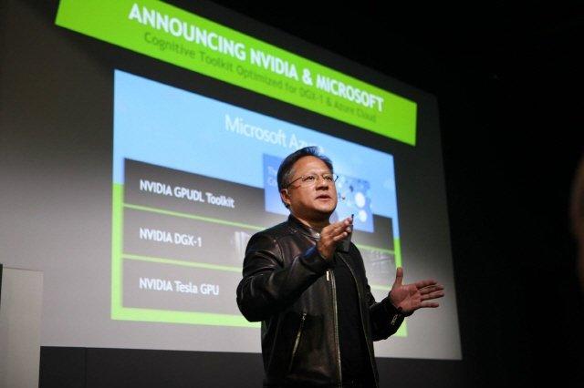 엔비디아, MS AI 가속화 협력 발표