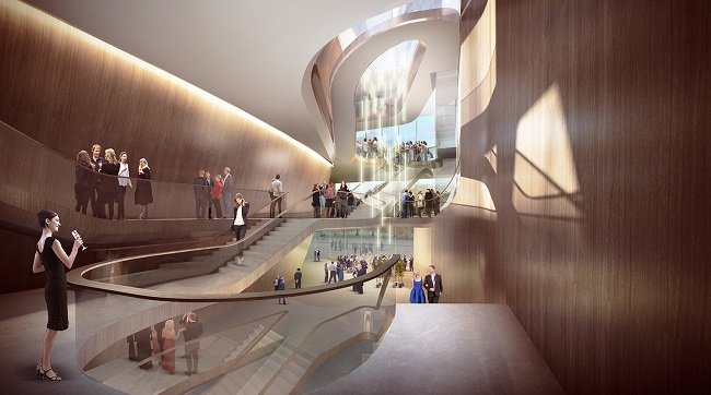 FOYER IMAGE OF DEN BOSCH THEATRE BY UNSTUDIO (자료출처아키데일리)