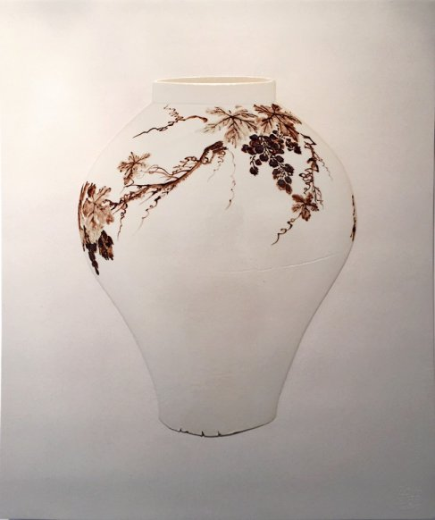TAO, 71x85cm, ceramic, 2014