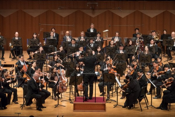 '이상 엔더스의 쇼스타코비치 첼로 협주곡' 공연사진. 사진=서울시립교향악단 제공