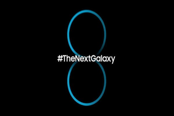 Teaser image of Galaxy S8 that was leaked in a foreign country