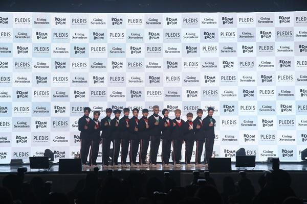 [ON+현장 종합] '세븐틴'이라는 배, 세상 뒤흔들 항해를 시작하다