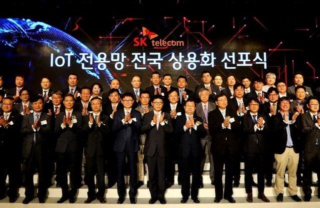 SK텔레콤이 IoT 전용망인 로라(LoRa) 네트워크를 전국에 구축 완료하고, 본격적인 IoT 시대로의 진입을 선언했다. (사진=SKT)