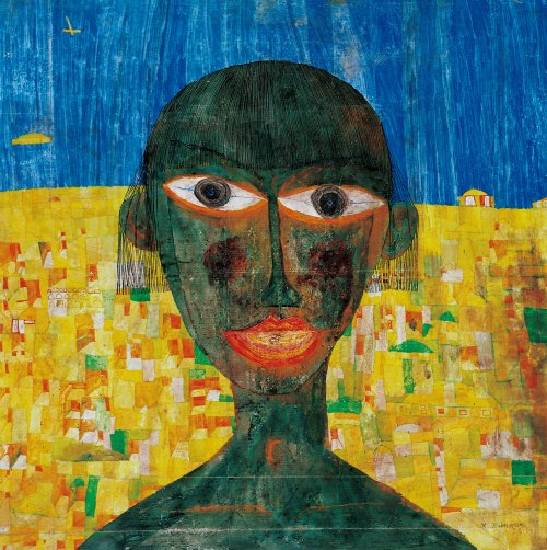130 나에게 흑인여인이 있었다면 그녀를 사랑하고 그렸을 것입니다. 사진=2016 NAMIDA AG, Glarus, Switzerland