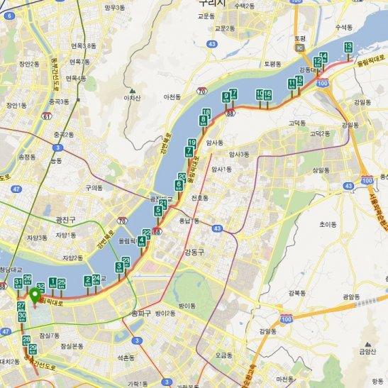 고구려 마라톤 대회 32.195km 코스