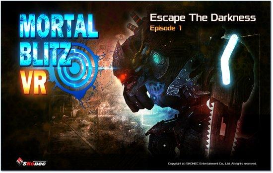 스코넥엔터테인먼트 'Mortal Blitz Ep1', 중국 VRSHOW 서비스