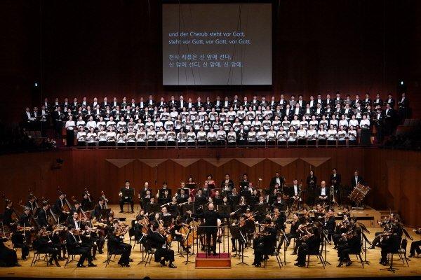 '서울시향의 합창 교향곡' 공연사진. 사진=서울시립교향악단 제공