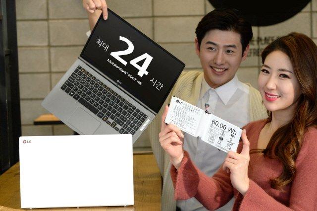 LG전자가 배터리 용량을 대폭 늘려 한 번 충전으로 최대 24시간 동안 사용이 가능한 노트북 '올데이 그램'을 출시했다.