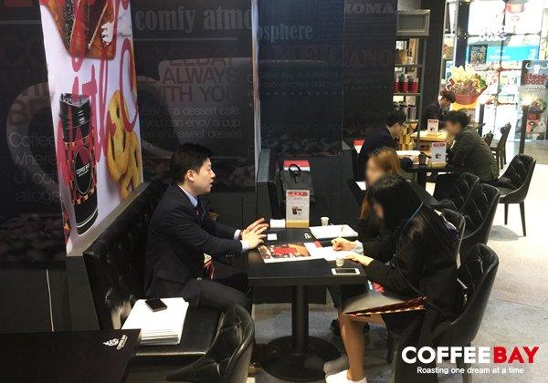 커피베이 '2017년 프랜차이즈창업박람회에 참가' 성공 카페창업 노하우 전수