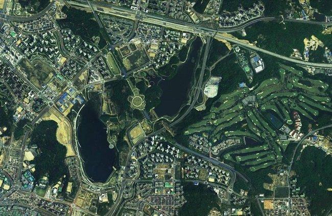 그림 3. 지명 없는 지도는 사진이나 그림에 불과할 뿐 지도처럼 보이지 않을 것이다.