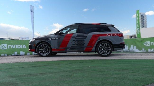 CES 2017에서 선보인 엔비디아 기술이 녹아든 아우디 Q7의 자율주행차