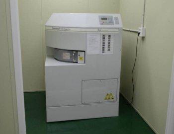 강원대학교 미래관에 설치된 방사선 조사기 감마셀-40