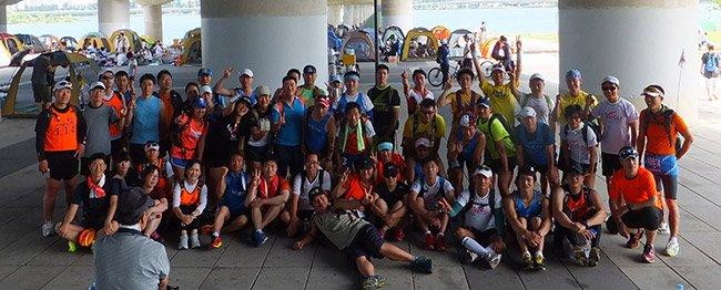 2013년 도킹대작전 사진 70여명의 회원이 참가했다