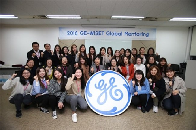 2016 WISET-GE 코리아 글로벌 멘토링 연말행사 단체사진