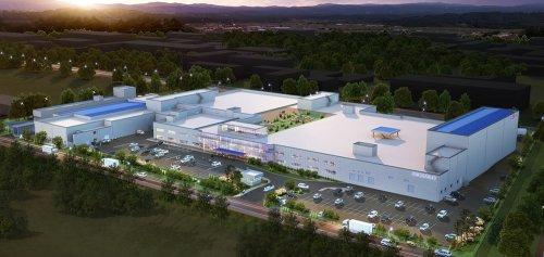도드람 '김제 후레쉬 미트센터'. 국내 최대 규모 최신 시설을 갖춘 도드람의 제 2 축산물종합처리장으로 현재 2018년 완공을 목표로 김제 지평선산업단지에 건립 중에 있다. 사진=도드람 제공
