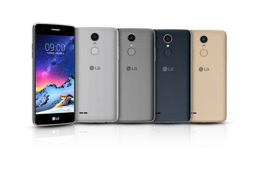 LG电子在CES 2017上展示的K8(2017)(图片来源:韩国《The Electronic Times》)