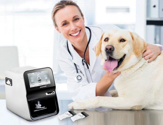 삼성전자, 美 동물용 의료기기 시장 공략