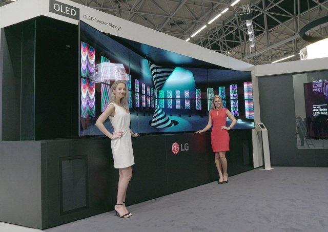 삼성-LG, ISE서 정면대결 'QLED vs OLED'