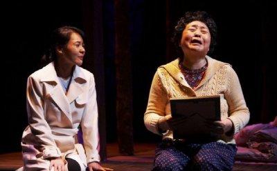 [ET-ENT 연극] 흐르는 눈물, 먹먹한 감동 '친정엄마와 2박3일'