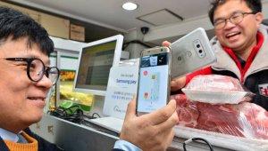 삼성페이, 국내 최초 폰2폰 결제 상용화...카드결제 단말기 없이 결제한다.
