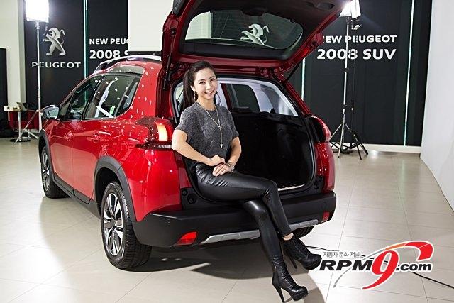 [RPM포토] New 푸조 2008 SUV, 410L 에서 최대 1.400L 조정 가능한 수납공간