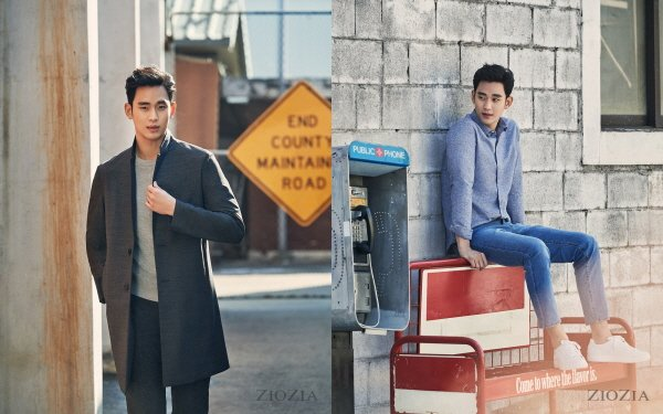 '한류배우' 김수현, 패션화보 통해 '막강 비주얼' 뽐내