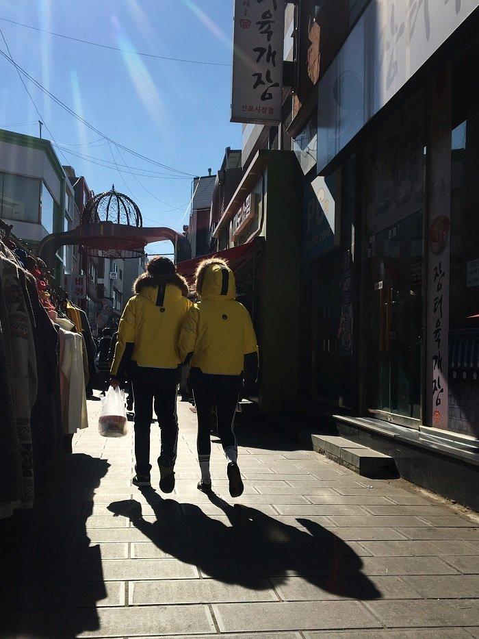 인천 신포시장 2017년 2월