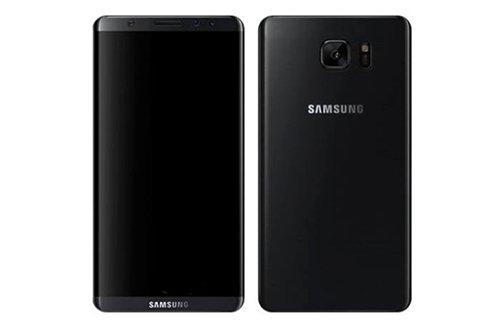 推测为Galaxy S8外观的智能手机合成图片(图片来源:韩国《电子新闻》)