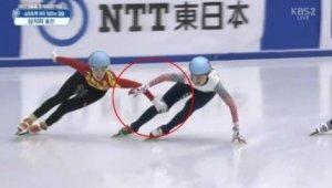 """판커신 나쁜손, 김동성 동변상련 느꼈나 """"스케이트 저렇게 타는 거 아니야!!"""""""