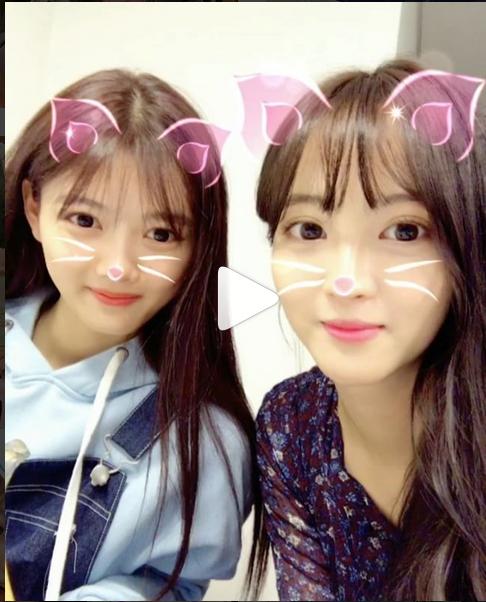 """정혜성, 김유정과 함께 찰칵 """"진짜 이쁨이쁨 열매 먹었나?"""""""
