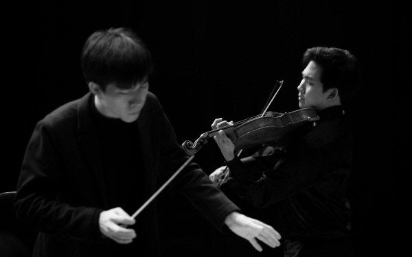 '오케스트라 앙상블 서울 OES의 슈베르트 죽음과 소녀' 리허설사진. 사진=Shin-Joong Kim 제공