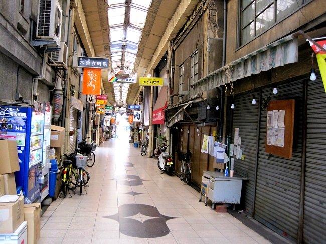 일본 오노미치 시 상점가