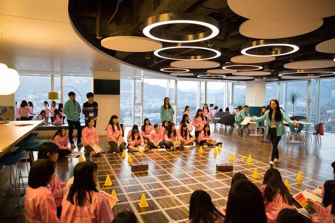 한국MS의 세계 여성의 날 기념 캠페인