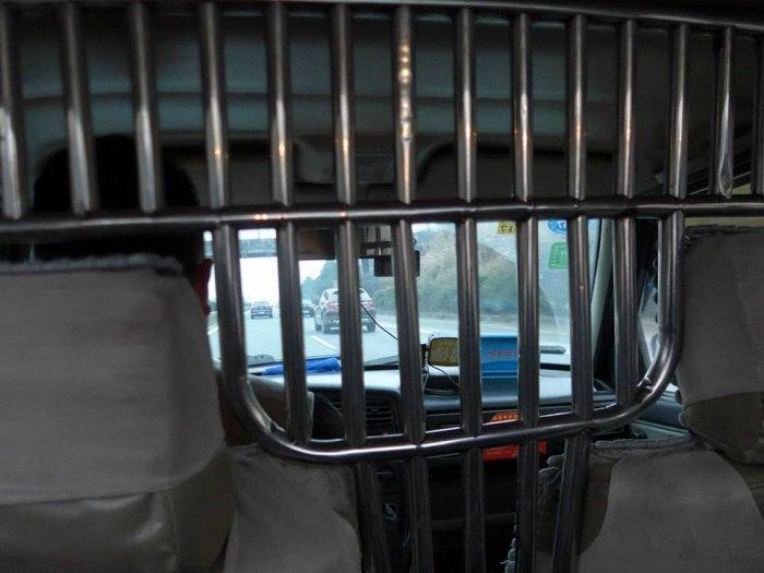 택시 내부
