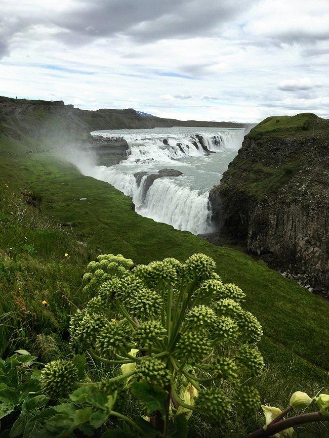 아이슬란드 자연풍경. 단색을 골라 촬영한 경우 2016년 7월