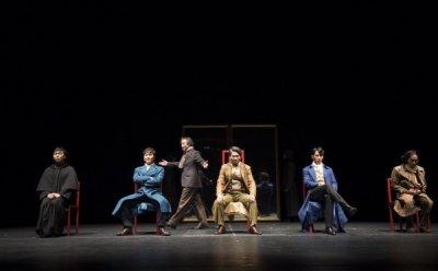 [ET-ENT 연극] 2016 공연예술 창작산실 연극(7) '카라마조프가의 형제들'(제1부) 유리창과 거울, 투과와 반영